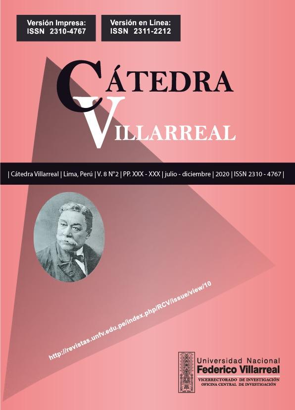 Ver Vol. 8 Núm. 2 (2020): Cátedra Villarreal